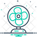 Fan Table Cooler Icon