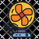 Fan Table Fan Wireless Fan Icon