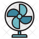 Fan Warm Cooler Icon