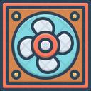 Fan Ventilator Spiracle Icon