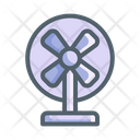 Electronic Fan Living Room Icon