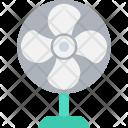 Pedestal Fan Electric Icon