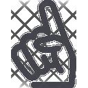 Fan Glove Icon