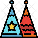 Fancy Hat Party Hat Party Cap Icon