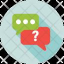 Faq Chatting Help Icon