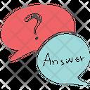 Faq Chatting Chat Bubble Icon