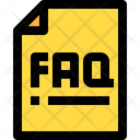 Faq Support Query Icon