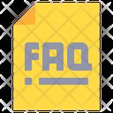 Faq Question Help Icon