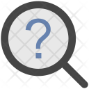 Faq Magnifier Question Icon