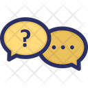 Chat Question Support Icon