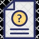 Document Faq Question Icon