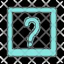 Question Mark Faq Icon
