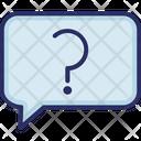 Faq Question Mark Question Bubble Icon