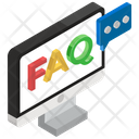 Question And Answer Faq Frequently Ask Question Icon