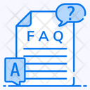 Faq Questions And Answers Frequently Ask Questions Icon