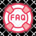 Webshop Faq Internet Icon