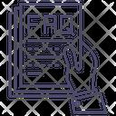 Faq Help Service Icon