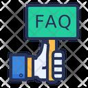 Faq Question Ask Icon
