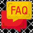 Faq Message Question Icon