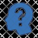 Faq Question Mind Icon