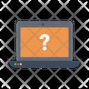 Faq Question Laptop Icon