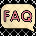 Faq Questions Question Icon