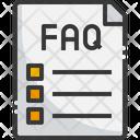 Faq Report Help Icon