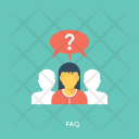 Faq Questions Frequently Icon