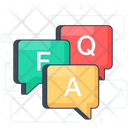 Faq Communication Icon