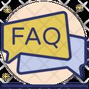 FAQ Communication Icon