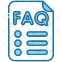 Document File Faq Icon