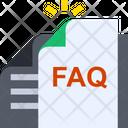 Faq Documnet Icon