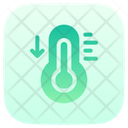 Farenheit Celsius Thermometer Icon