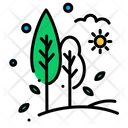 Trees Tree Village Icon