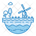 Energy Nature Windmill Icon