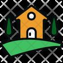 Farm Home House Icon