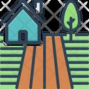 Farm Land Ground Icon