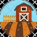 Agriculture Barn House Farmhouse Icon