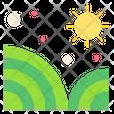 Farm Field Fields Icon
