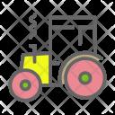Farm Tractor Transport Icon