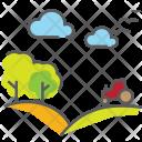 Farm Autum Ecology Icon