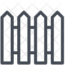 Farm fencing Icon