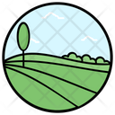 Farm Fields Icon