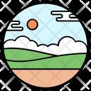 Farm Fields Icon