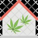 Greenhouse Eco Home Icon