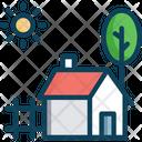 Farm Housem Farm House Barn Icon
