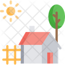 Farm Housem Farm House Barn Icon
