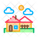 Urban Residential Landscape Icon