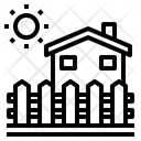 House Fence Home Icon