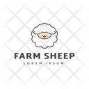 Farm Sheep Icon